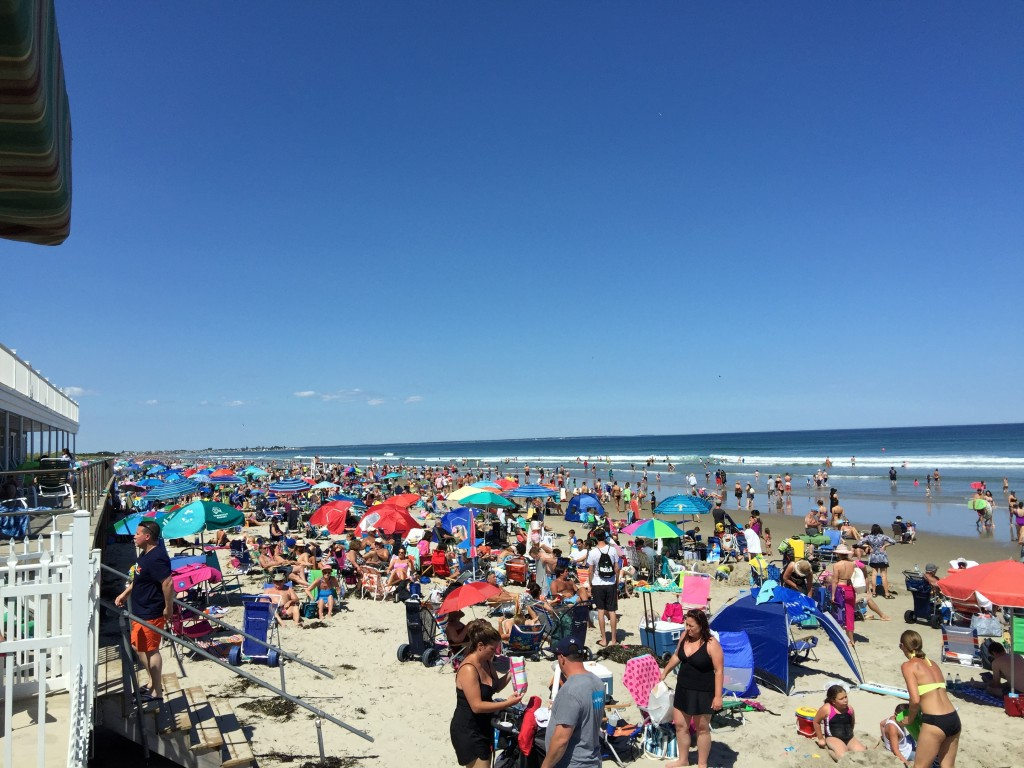 Summer at York Beach