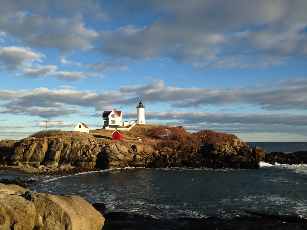 A view of Nubble Light