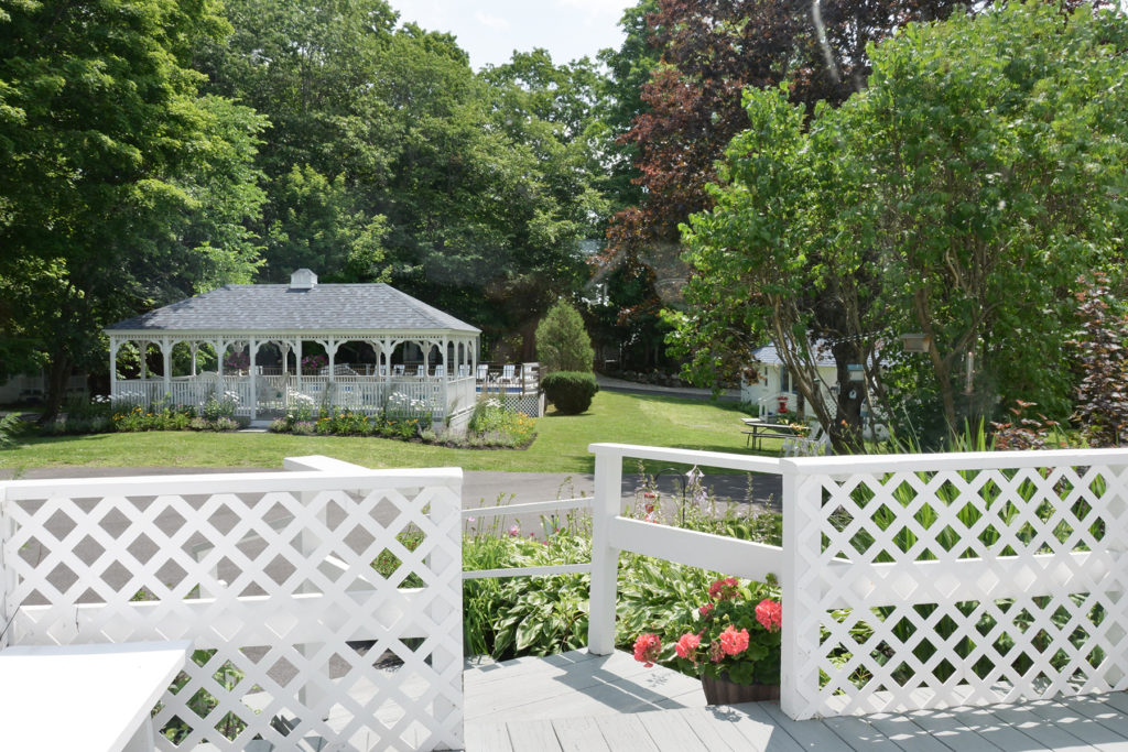The Gazebo- a great place to relax