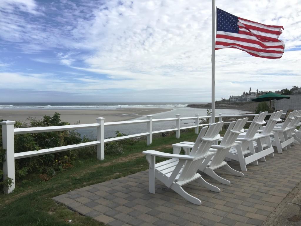 A view of York Beach